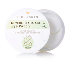 Фото Патчі під очі HOLLYSKIN Glycolic AHA Acid Eye Patch